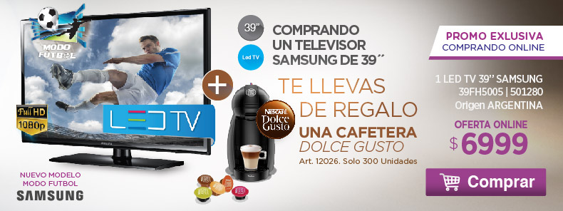 TV y Cafetera