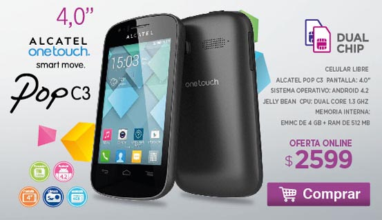 Rotador Alcatel Pop C3 780208