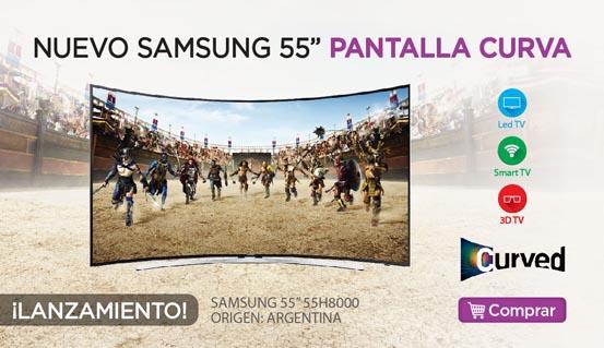 Rotador 501356 SMART TV SAMSUNG 55 55H8000