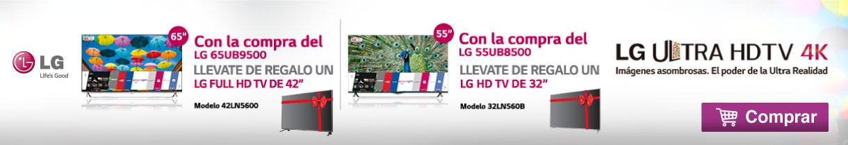 Banner Inferior LG ULTRA HDTV 4K