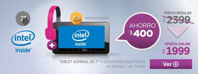 Rotador 700291 Tablet Admiral TG701