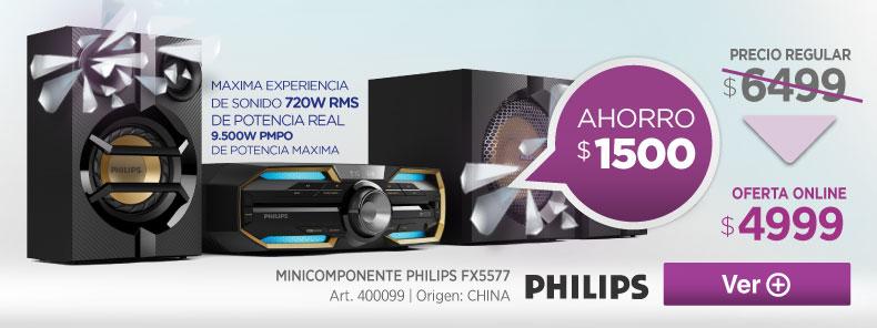 Rotador 400099 MINICOMPONENTE PHILIPS FX5577