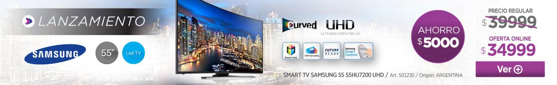 Banner Inferior 501230 SMART TV SAMSUNG 55 55HU7200 UHD
