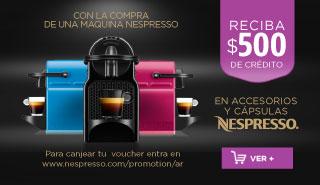 Rotador Voucher Nespresso
