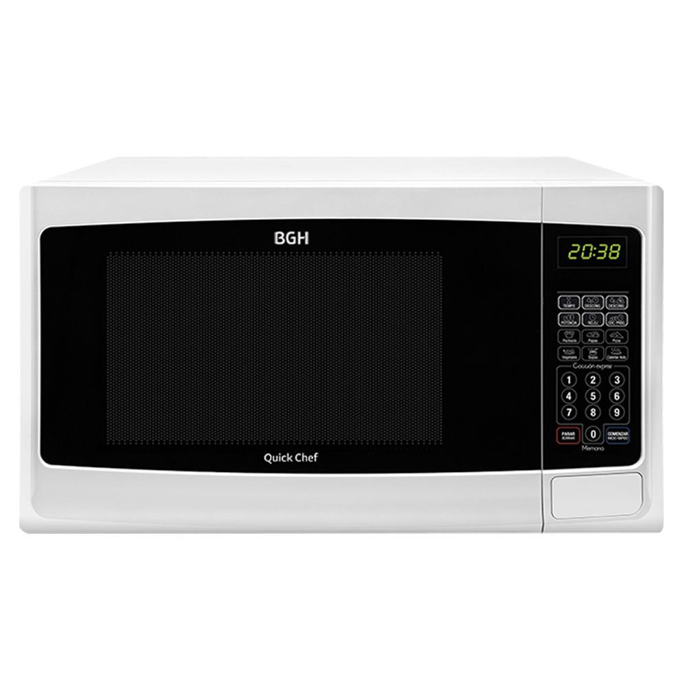 Cocina microondas bgh recetas electrodomsticos for Cocinar en microondas