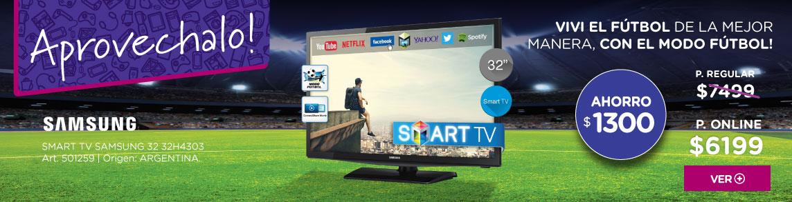 Rotador 501259 SMART TV SAMSUNG 32 32H4303