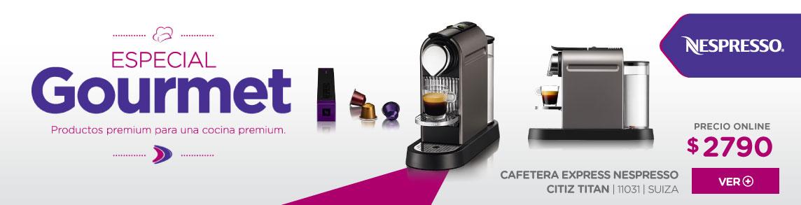 Rotador Nespresso CITIZ TITAN
