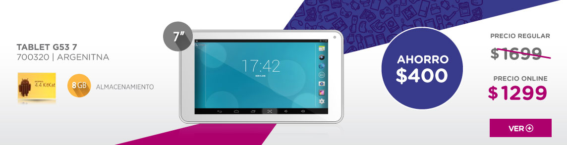 Rotador TABLET G53 7 CON INTEL