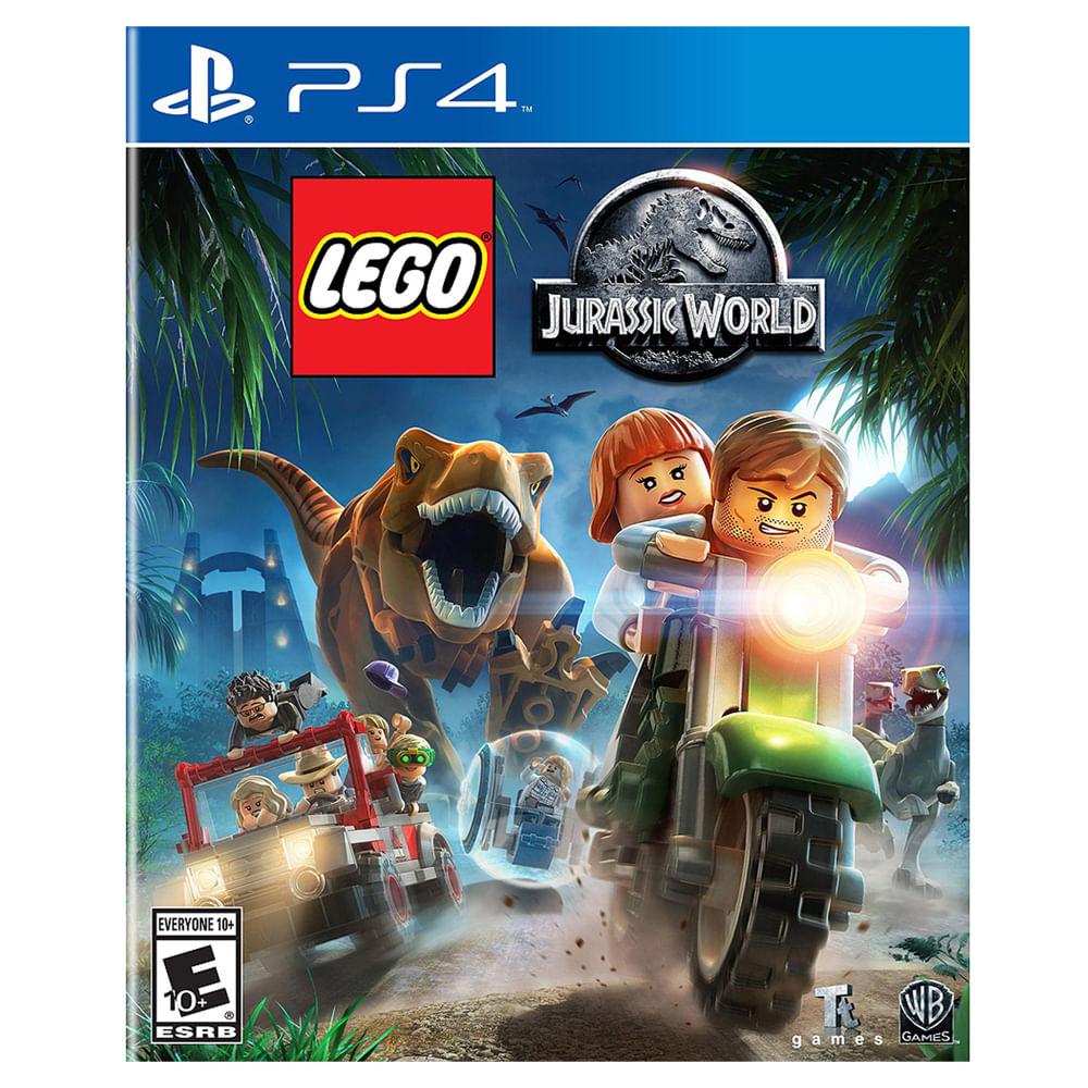 JUEGO-PS4-WARNER-GAMES-LEGO-JURASSIC-WORLD