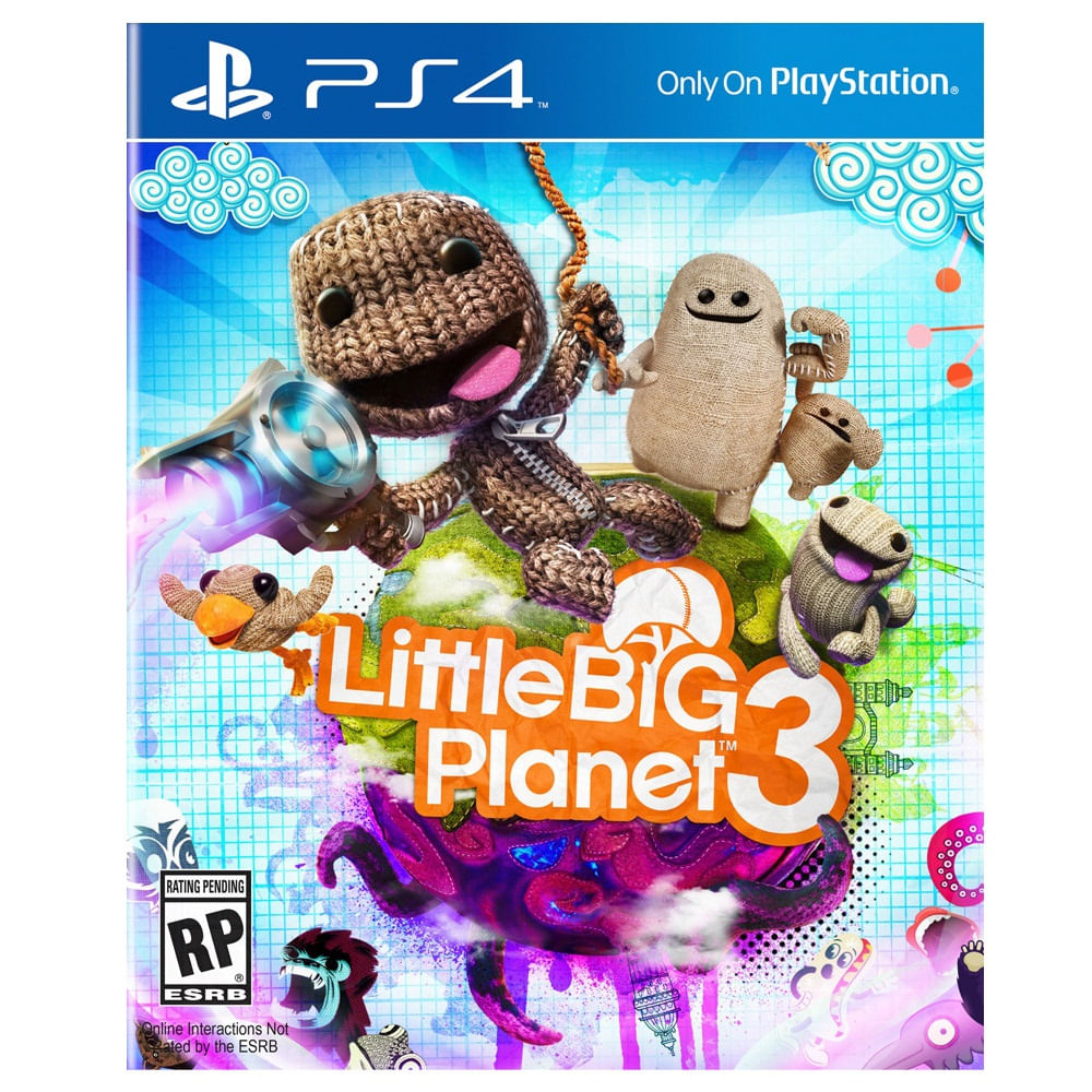 JUEGO-PS4-SONY-LITTLE-BIG-PLANET-3