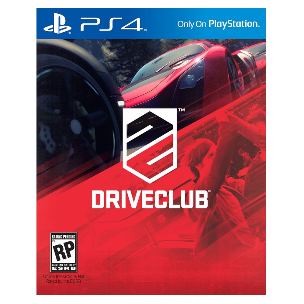 JUEGO-PS4-SONY-DRIVECLUB