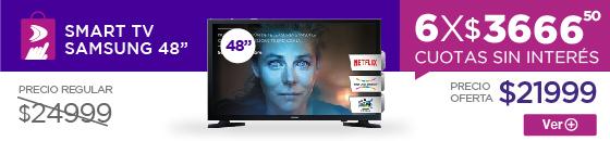 Half Banner smart tv samsung 48 48ju6500 4k uhd