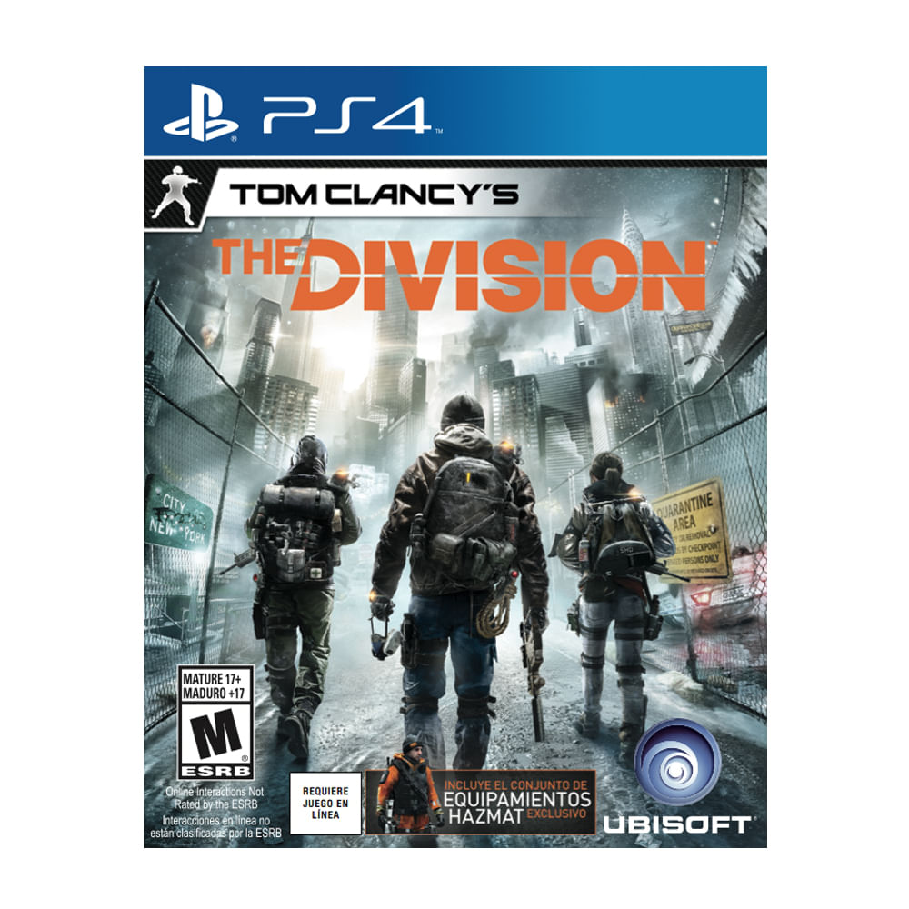 JUEGO-PS4-UBISOFT-PS4-THE-DIVISION-LIMITED-EDITION