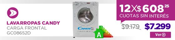 Half Banner LAVARROPAS CANDY CARGA FRONTAL GC08652D V a D