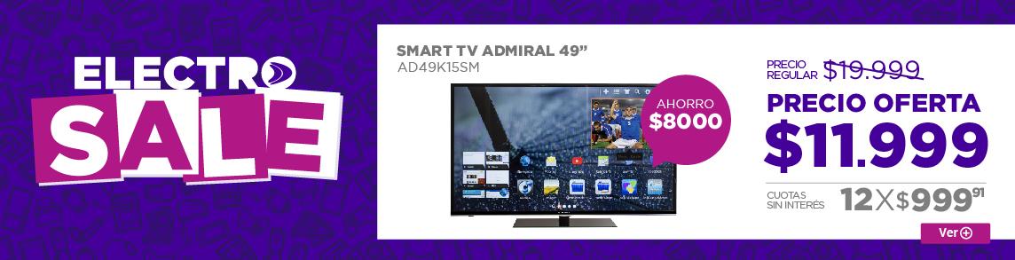 Rotador SMART TV ADMIRAL 49 AD49K15SM