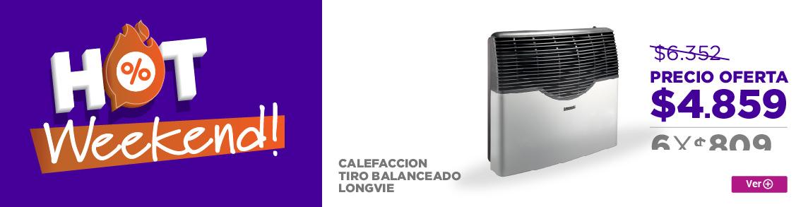 Rotador CALEFACCION TIRO BALANCEADO LONGVIE EBA5