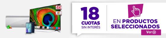 Half Banner 18 Cuotas Mega Descuento