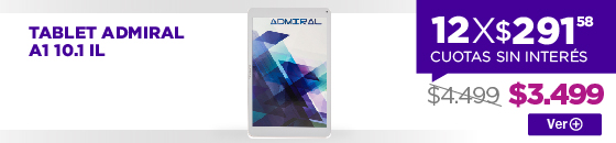 Half Banner TABLET ADMIRAL A1 10.1 IL