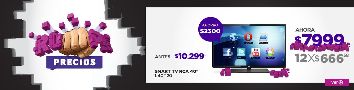Rotador SMART TV RCA 40 L40T20 RP