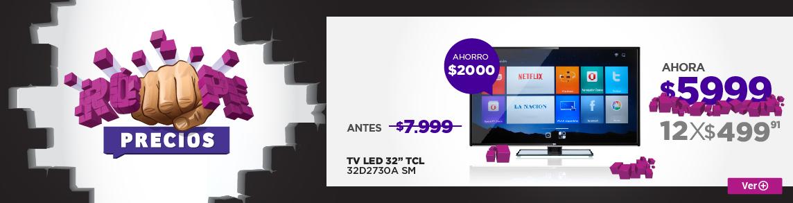 Rotador SMART TV TCL 32D2730A SM