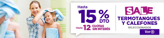 Half Electro Sale Termotanque 20% 26.08.2016