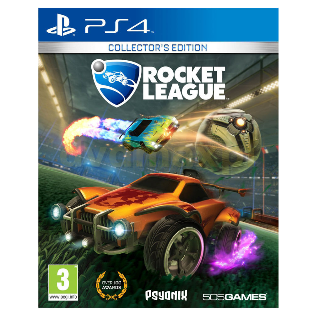 JUEGO-PS4-PSYONIX-ROCKET-LEGUE-COLLECTOR-EDITION