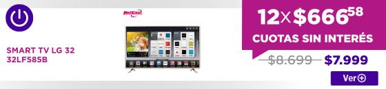 Half SMART TV LG 32 32LF585B Power