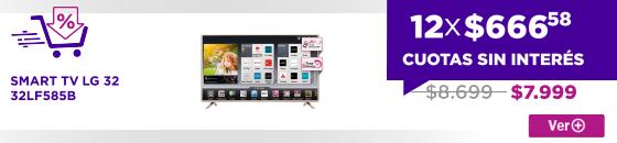 Half SMART TV LG 32 32LF585B mi