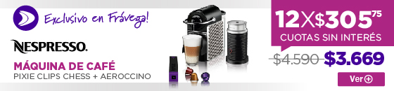 Half CAFETERA EXPRESS NESPRESSO PIXIE CLIPS PACK CHESS ELECTROSALE