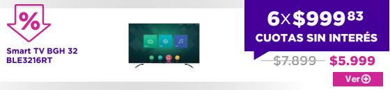 Smart TV BGH 32 BLE3216RT BIG SALE