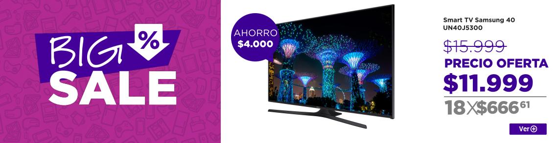 BIG SALE Smart TV Samsung 40 UN40J5300