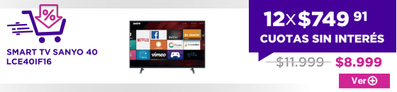 SMART TV SANYO 40 LCE40IF16