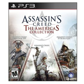 JUEGO-PS3-UBISOFT-ASSASINS-CREED-THE-AMERICAS-COLLECTION