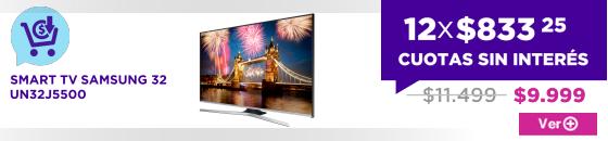 PRE CM SMART TV SAMSUNG 32 UN32J5500