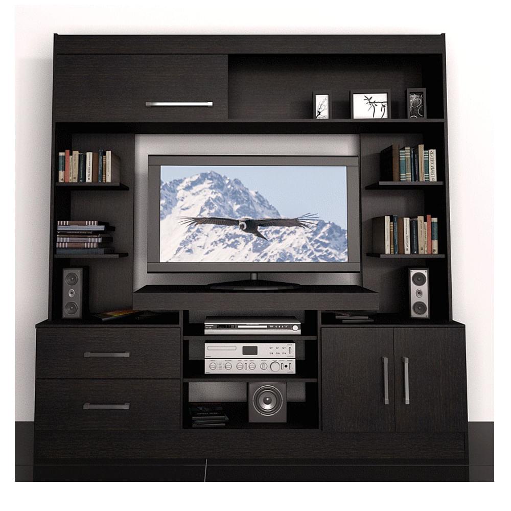 Modular fiplasto mo7201 fravega for Modelos de muebles para tv modernos