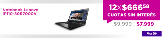 Notebook Lenovo IP110-80R7000V