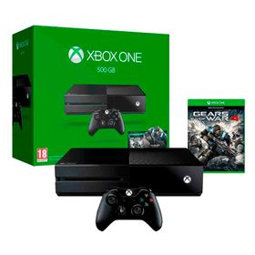 Consola-Xbox-One-Microsoft-500GB-y-Gears-of-War-4