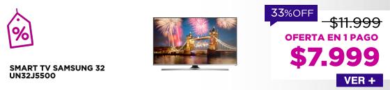 SMART TV SAMSUNG 32 UN32J5500