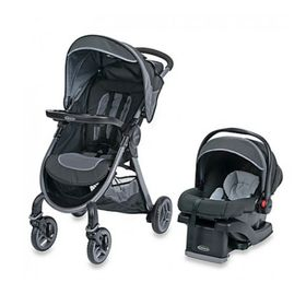Coche-de-Bebe-Graco-Travel-System-Fast-Action-2.0-Calibur-con-Huevito
