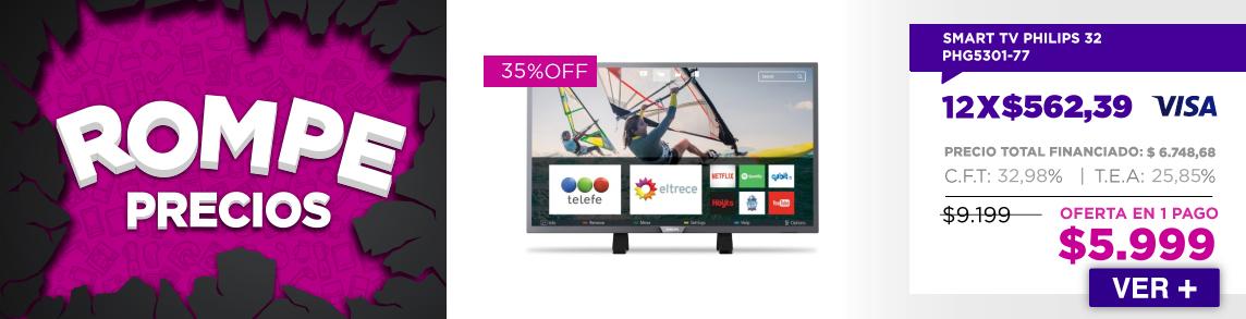 ROMPE PRECIOS TV