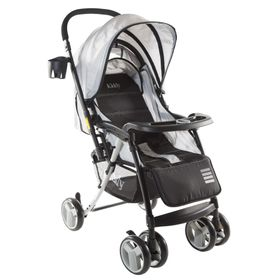 Coche-de-Bebe-Kiddy-Twister-Gris
