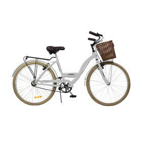 Bicicleta-Unibike-Paseo-Dama-Rodado-26-Blanco