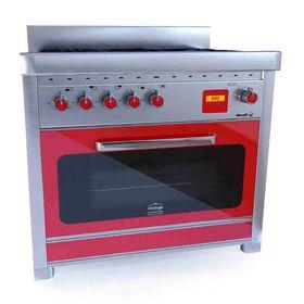 Cocina-Morelli-Vintage-Selecta-Collezione-900-Roja
