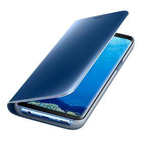 Funda-Samsung-Clear-View-Standing-Azul-para-Galaxy-S8