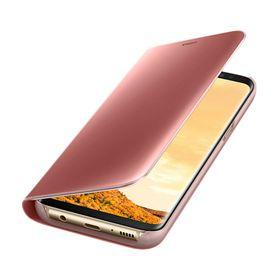Funda-Samsung-Clear-View-Standing-Rosa-para-Galaxy-S8