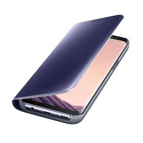 Funda-Samsung-Clear-View-Standing-Violeta-para-Galaxy-S8