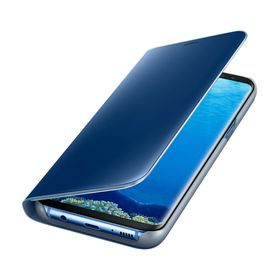 Funda-Samsung-Clear-View-Standing-Azul-para-Galaxy-S8-Plus