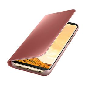 Funda-Samsung-Clear-View-Standing-Rosa-para-Galaxy-S8-Plus
