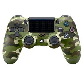 Joysticks-Sony-Dualshock4-Green-Camo