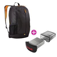 Kit-Caselogic-Mochila-mas-Pendrive-de-16-Gb